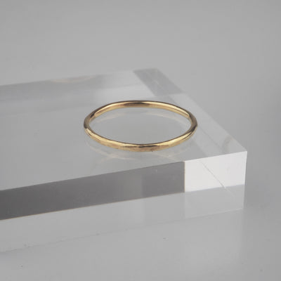 "Gold Ring ""Comfort 003 Gold"" ゴールド リング-リング-yuzen-official"