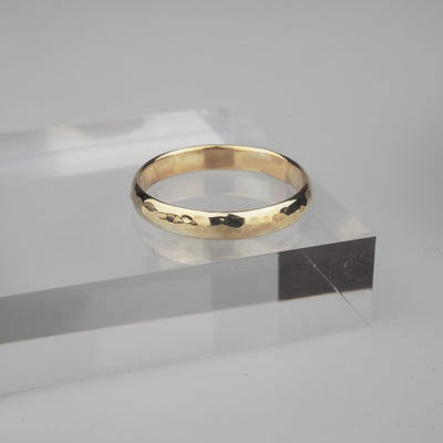 "Gold Ring ""Comfort 004 Gold"" ゴールド リング-リング-yuzen-official"