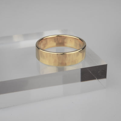 "Gold Ring ""Comfort 002 Gold"" ゴールド リング-リング-yuzen-official"
