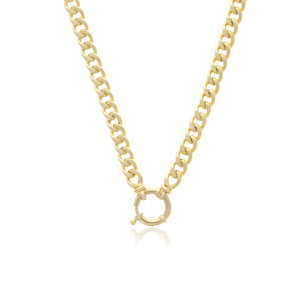 Toggle Cuban Chain Necklace - essentialsjewels.com