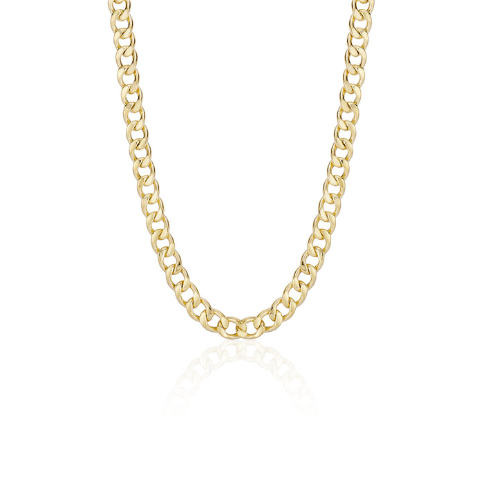 Thick Cuban Chain Choker - essentialsjewels.com