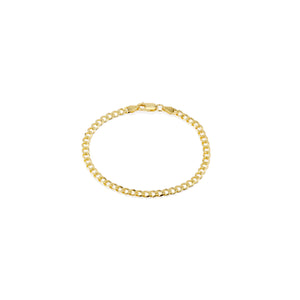 Thin Cuban Chain Bracelet - essentialsjewels.com