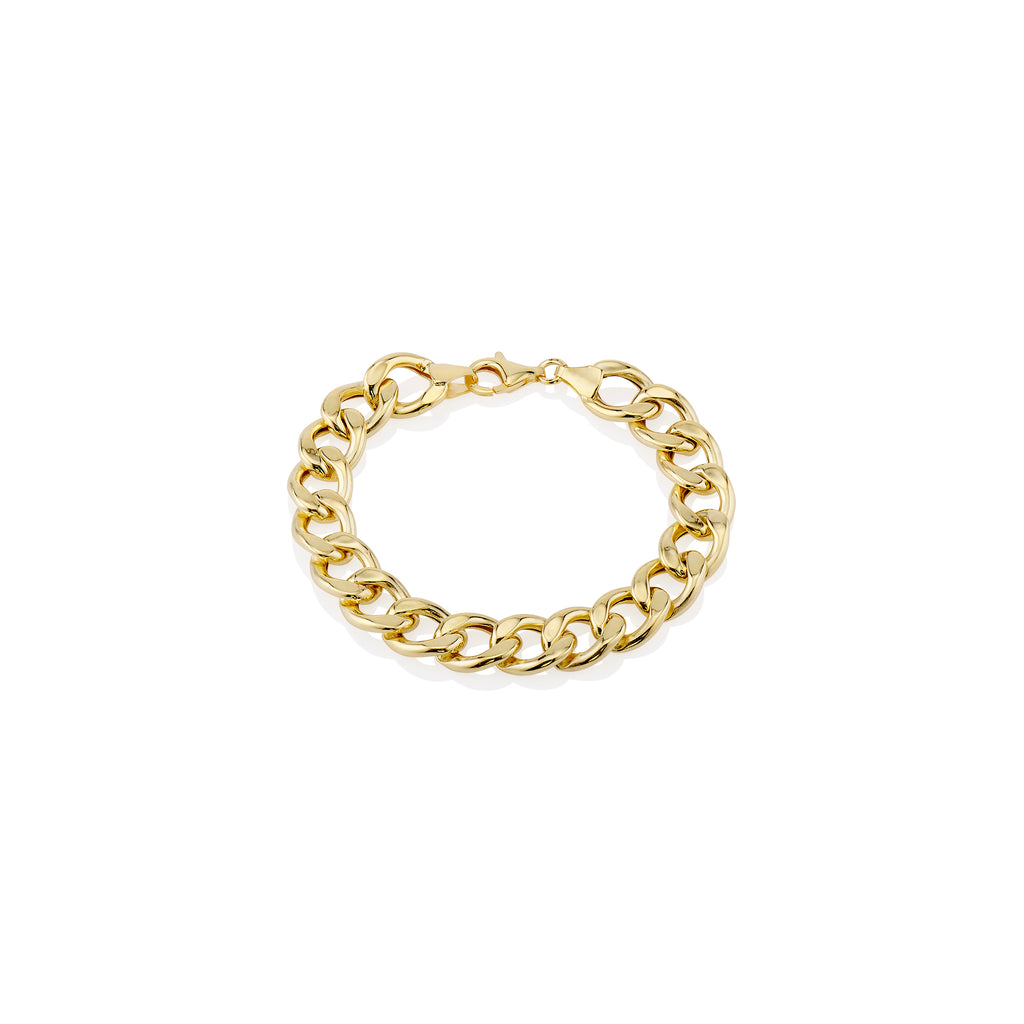 Thick Cuban Chain Bracelet - essentialsjewels.com
