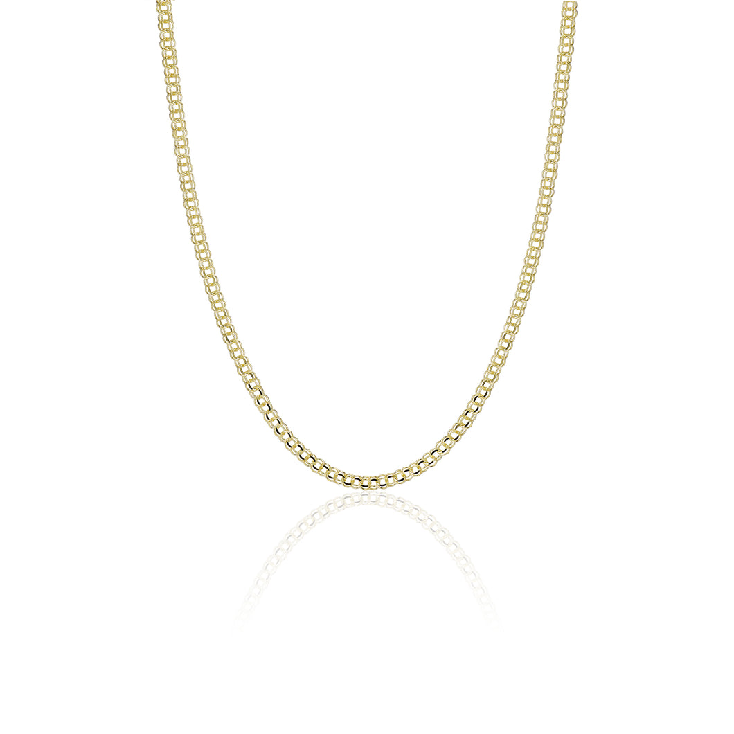 Double Link Necklace - essentialsjewels.com