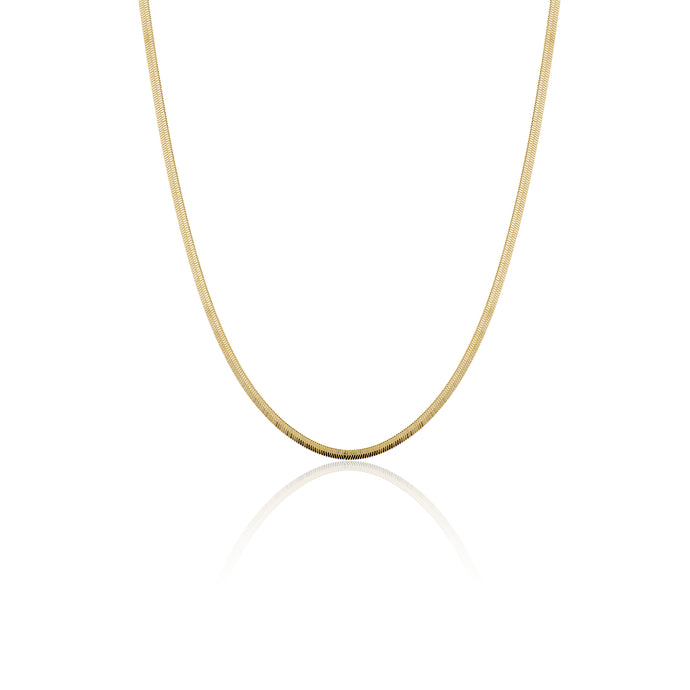 Herringbone Necklace - essentialsjewels.com