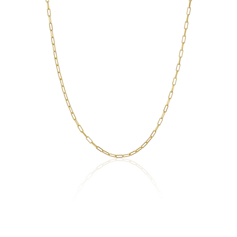 Paperclip Chain Necklace - essentialsjewels.com