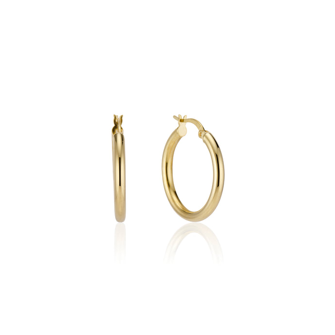 Thin Hoop Earring - essentialsjewels.com