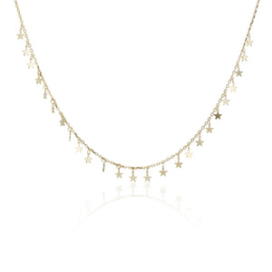 Multi-Star Necklace - essentialsjewels.com