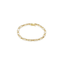 Load image into Gallery viewer, Pave Oval Bracelet - essentialsjewels.com