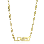 LOVED Necklace - essentialsjewels.com