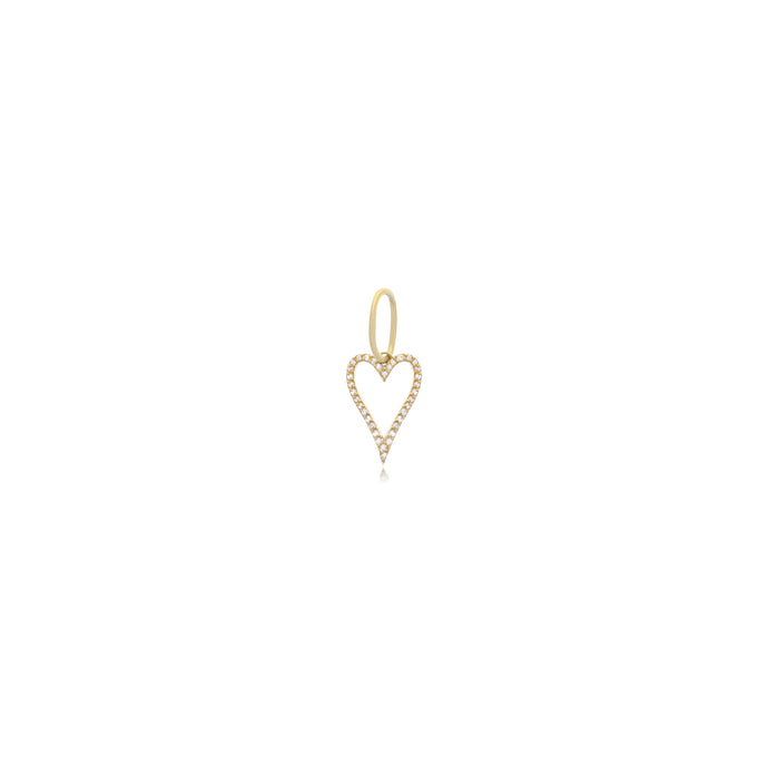 Heart Charm - essentialsjewels.com