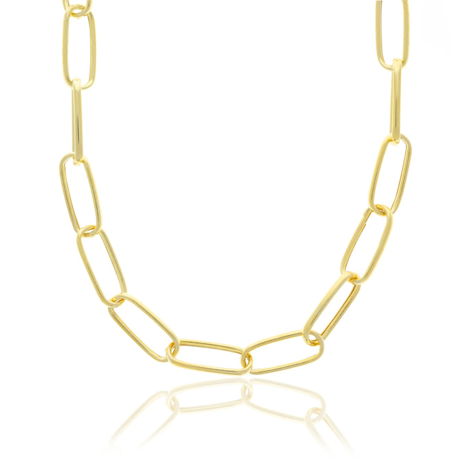 Oval Chunky Necklace - essentialsjewels.com