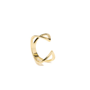 Open Solid Claw Ring - essentialsjewels.com