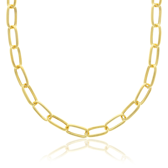 Chunky Link Necklace - essentialsjewels.com
