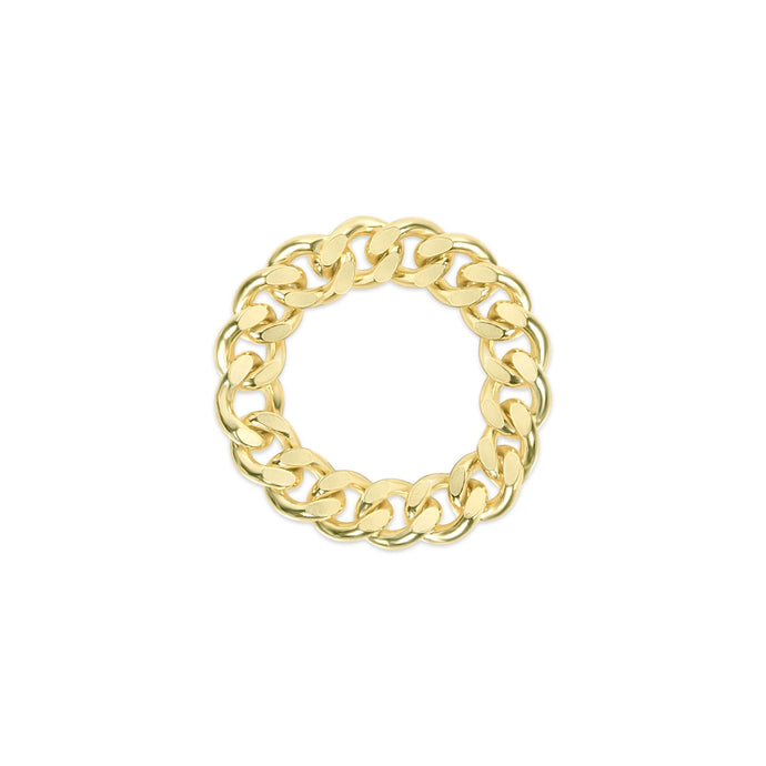 Cuban Chain Ring - essentialsjewels.com