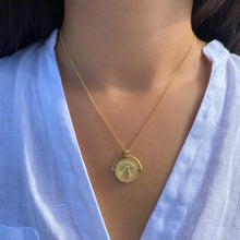 Load image into Gallery viewer, Vintage Coin Necklace - essentialsjewels.com