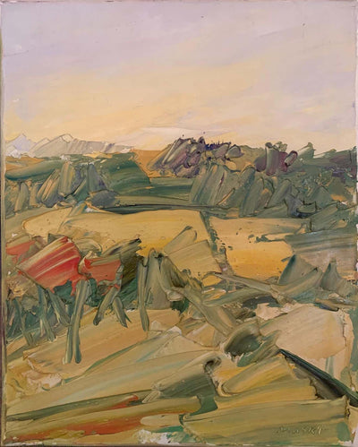 "'Picnic', Oil on canvas, 20""x16"", 2013"