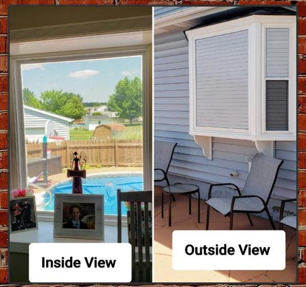1-way Vision Horizontal Blinds
