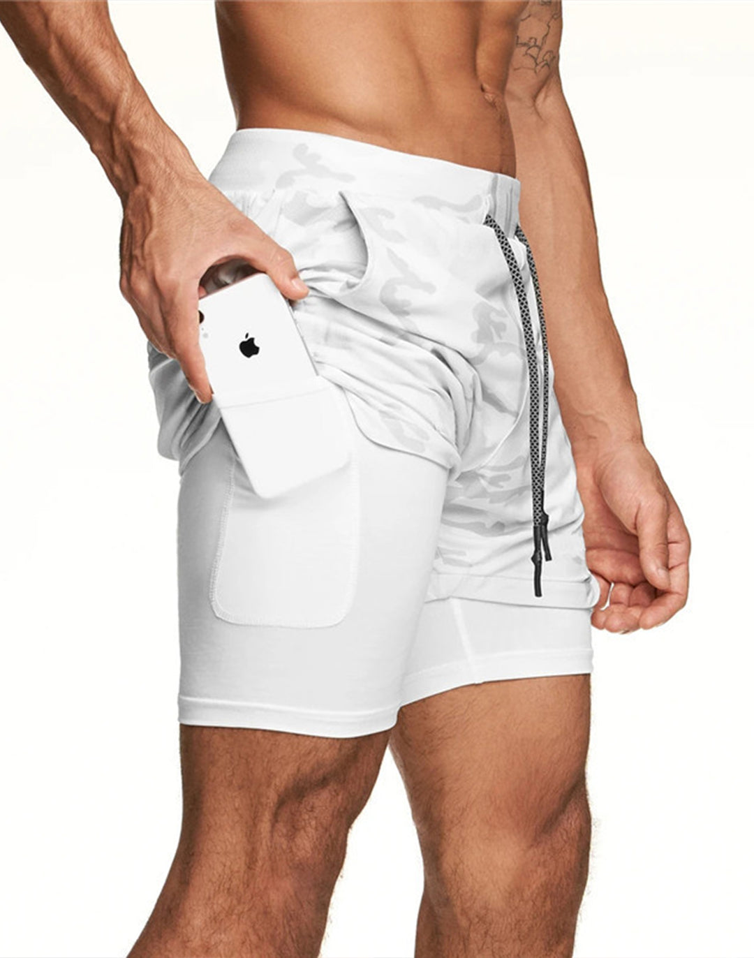 [Buy 3 Get 1 Free ]2-in-1 Secure Pocket Shorts
