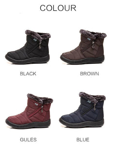 🔥Hot Sale🔥-Women Fur Warm Snow Boots【Buy 2 Free Shipping】