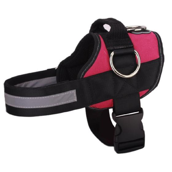 NEW All-In-One™ No Pull Dog Harness hot pink