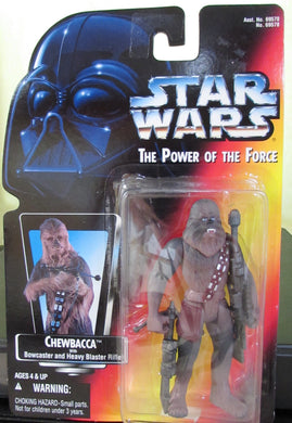 StarWars Power of the Force Red Card Chewbacca