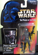 StarWars Power of the Force Red Card Death Star Gunner