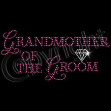 GrandMother of the Groom in Pink RhineStuds & Diamond