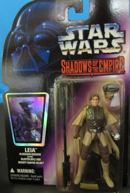 starwars shadows of the Empire Leia in Boushh Disguise