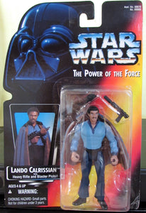 StarWars Power of the Force Red Card Lando Calrissian