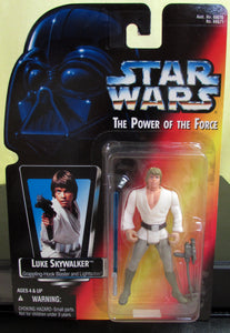 StarWars Power of the Force Red Card Luke Skywalker
