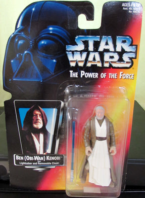 StarWars Power of the Force Red Card Obi-Wan Kenobi