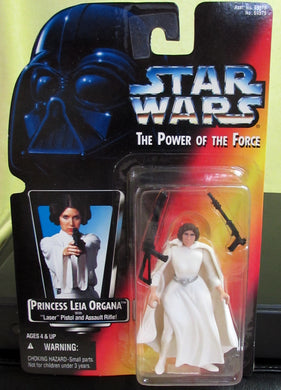 StarWars Power of the Force Red Card Princess Leia