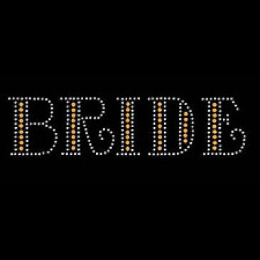 Bride In Studs & RhineStones