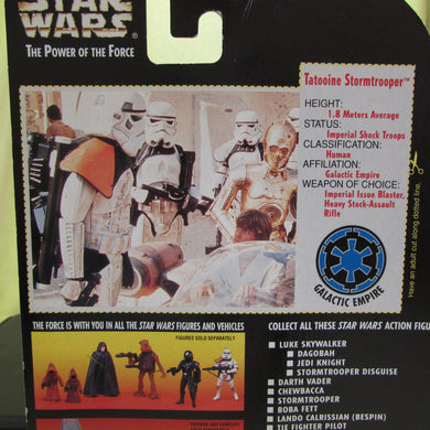 StarWars Power of the Force Red Card Tatooine Storm Trooper