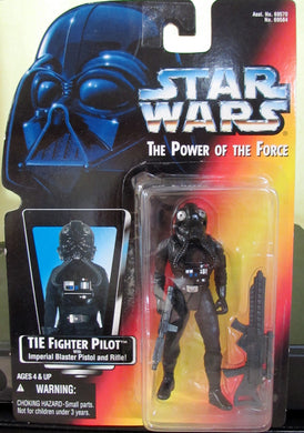 StarWars Power of the Force Red Card Tie Fighter Pilot