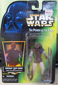 StarWars POTF Green Card - WeeQuay - with Hologram Sticker