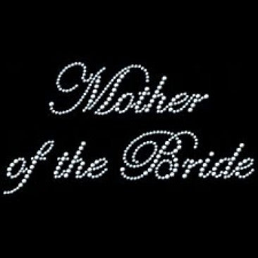 Mother Of The Bride In Rhinestones