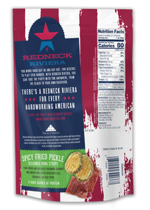 Redneck Riviera Spicy Fried Pickle Seasoned Pork Strips (12 ct)