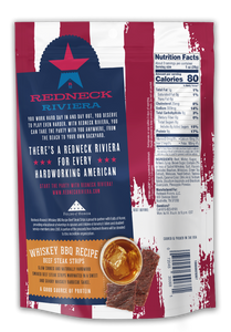Redneck Riviera Whiskey BBQ Recipe Beef Steak Strips (12 ct)