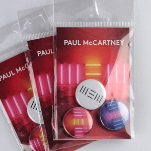 Paul McCartney Custom Button Packs
