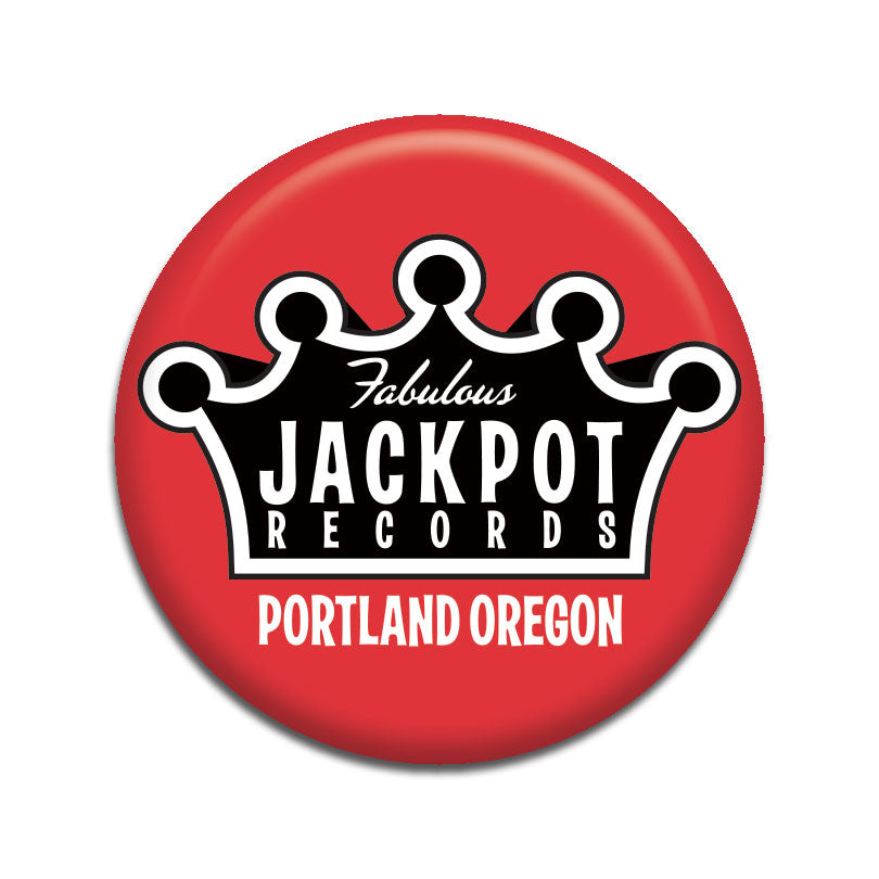 "Jackpot Red 1"" Button"