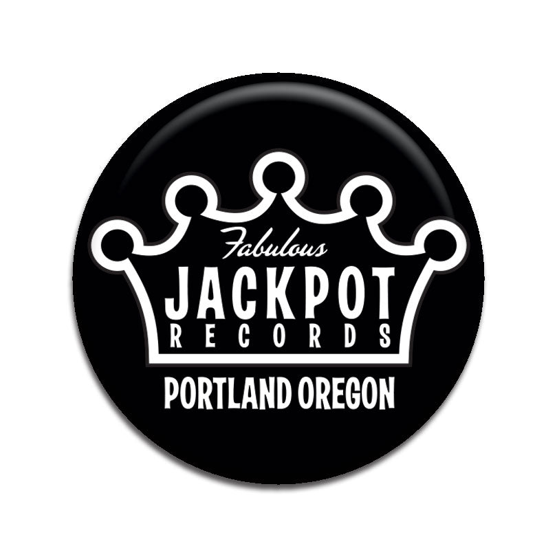 "Jackpot Black 1"" Button"