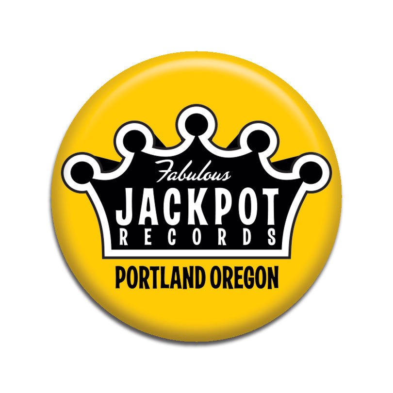 "Jackpot Yellow 1"" Button"