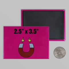 "2.5"" x 3.5"" Rectangle Magnets"