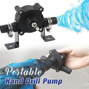 Portable Hand Drill Pump