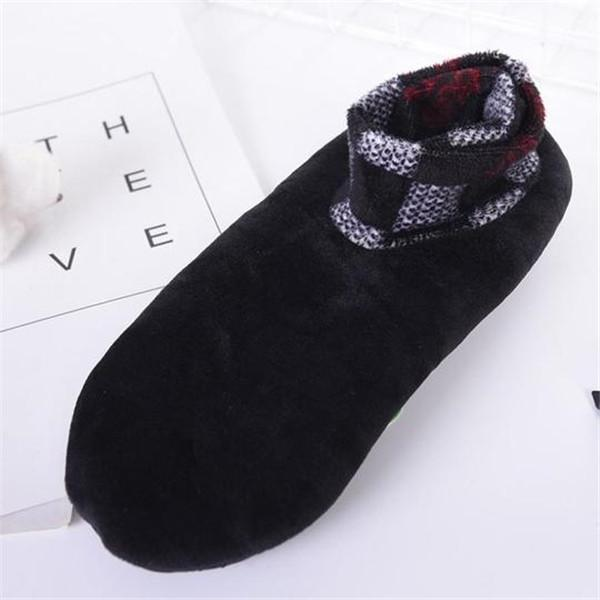 Indoor Cushioned Non Slip Grip Thermal Socks