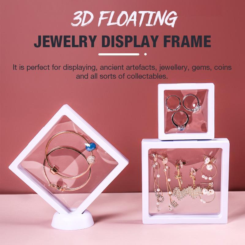 3D Floating Jewelry Box