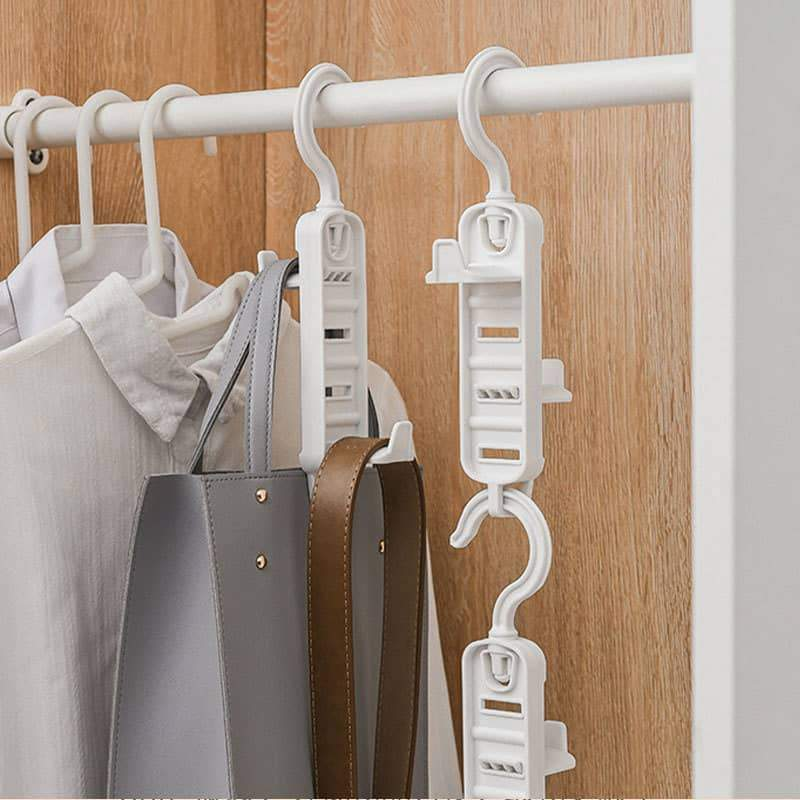 360° Rotating Adjustable Removable Bag Hanger