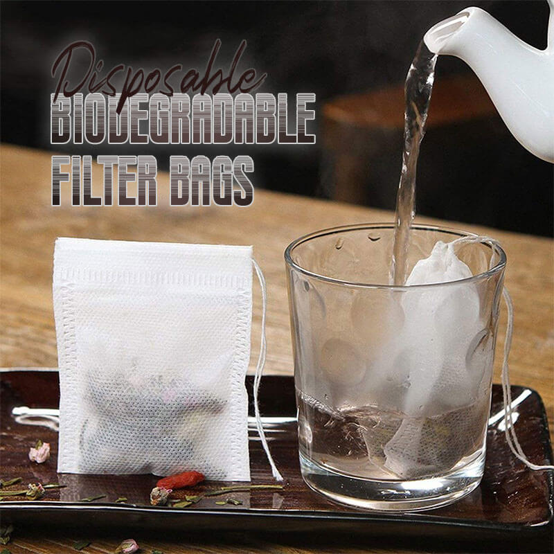 Disposable Biodegradable Filter Bags